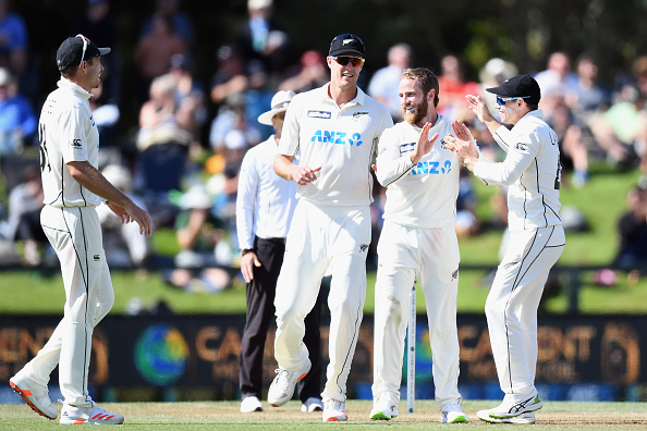 Kane Williamson, Mitchell Santner and Kyle Jamieson will travel to UK from India | Getty