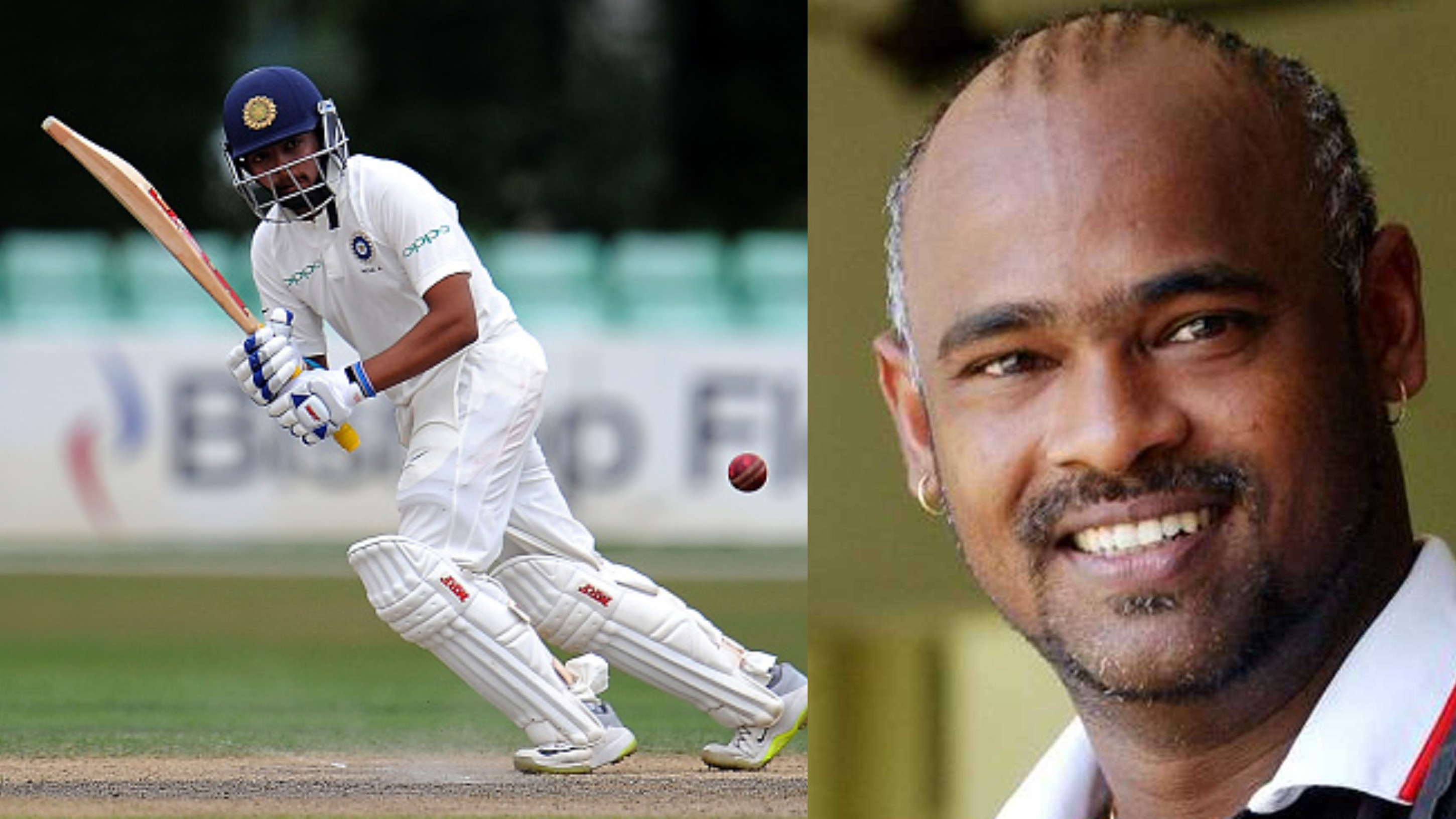 ENG v IND 2018: Vinod Kambli wishes luck to Prithvi Shaw after India selection
