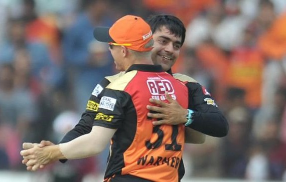 David Warner calls Rashid Khan a