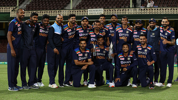 Team India claim second position in ICC T20I team rankings
