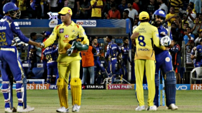 FAKE FB WALL: Mumbai Indians and Chennai Super Kings engages in a banter