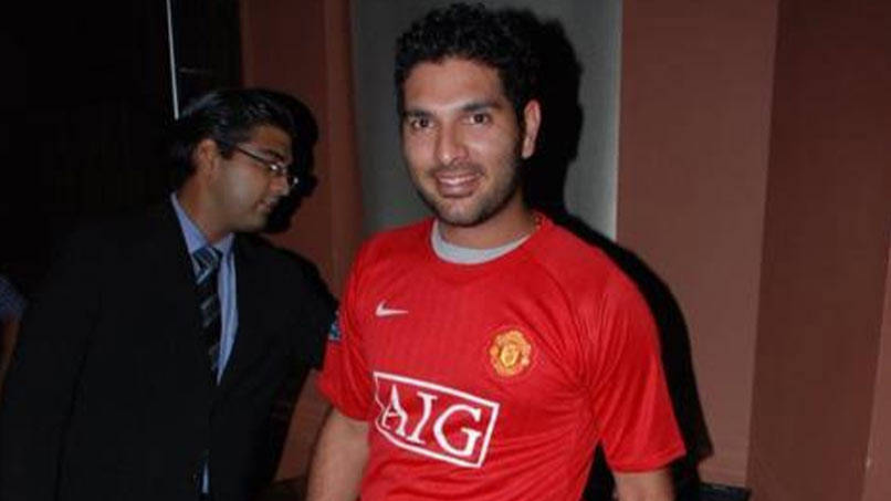 Manchester United's comeback win leaves Yuvraj Singh thrilled