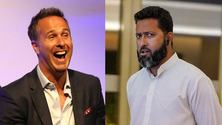 Wasim Jaffer wishes Michael Vaughan on the occasion of Friendship day