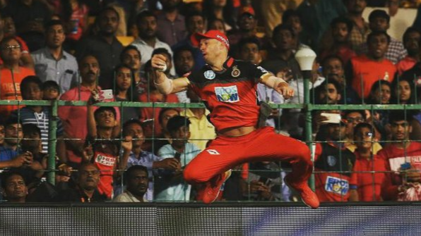 IPL 2018: Royal Challengers Bangalore pick AB de Villiers' catch as the 'Catch of the season'