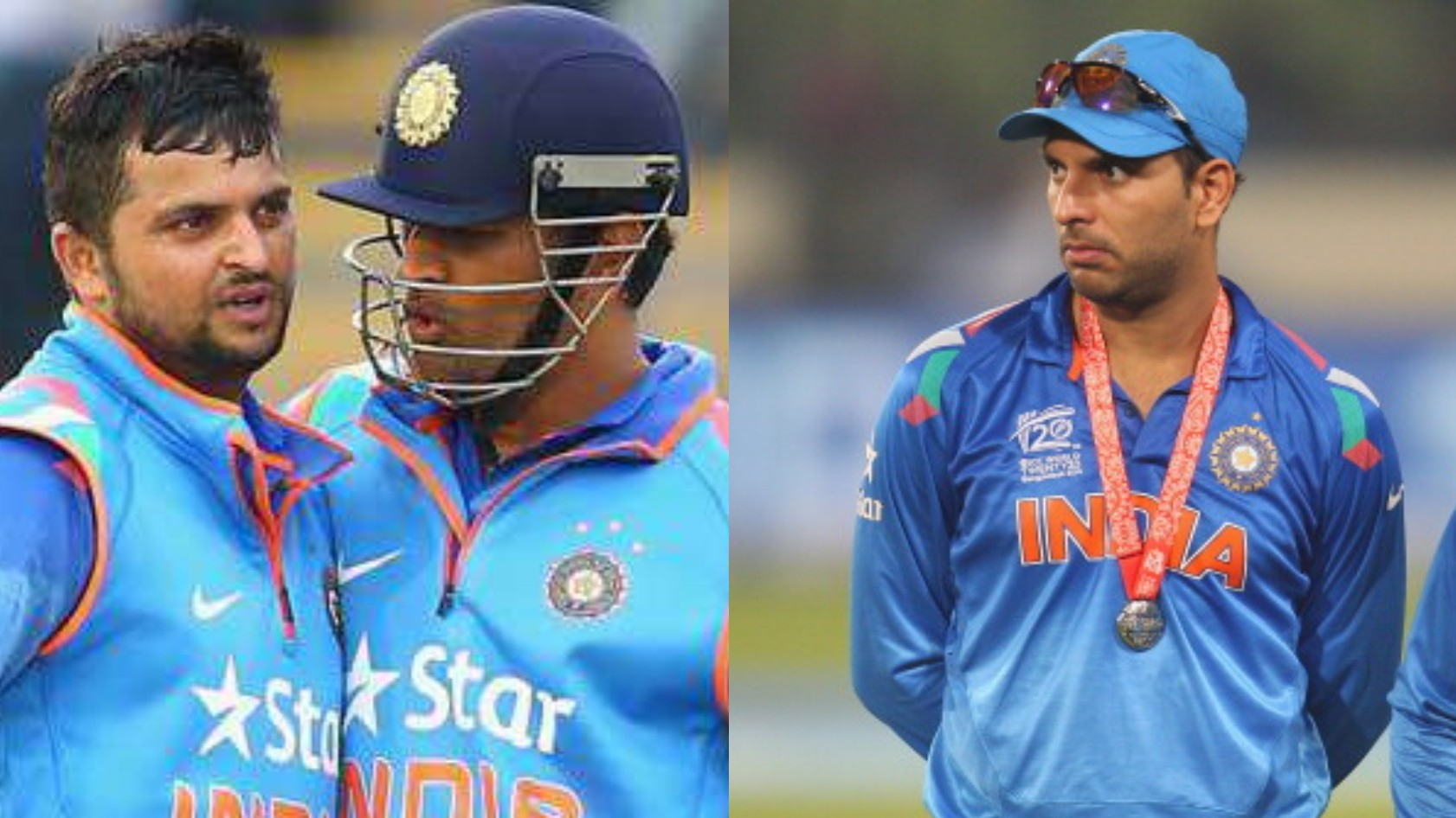 """MS Dhoni supported me because of my talent,"" Suresh Raina replies to Yuvraj Singh's jibe at him"