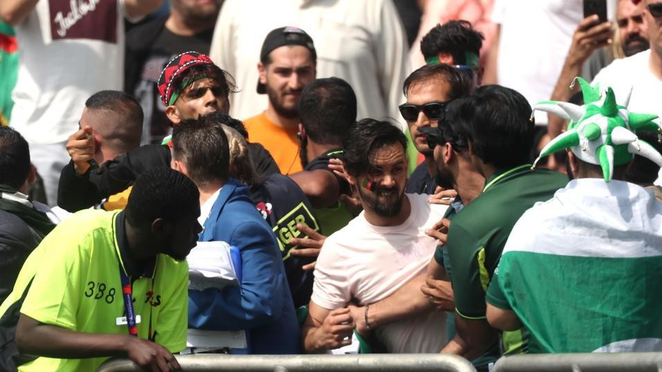 CWC 2019: WATCH- Afghanistan and Pakistan fans clash outside and inside Leeds ground
