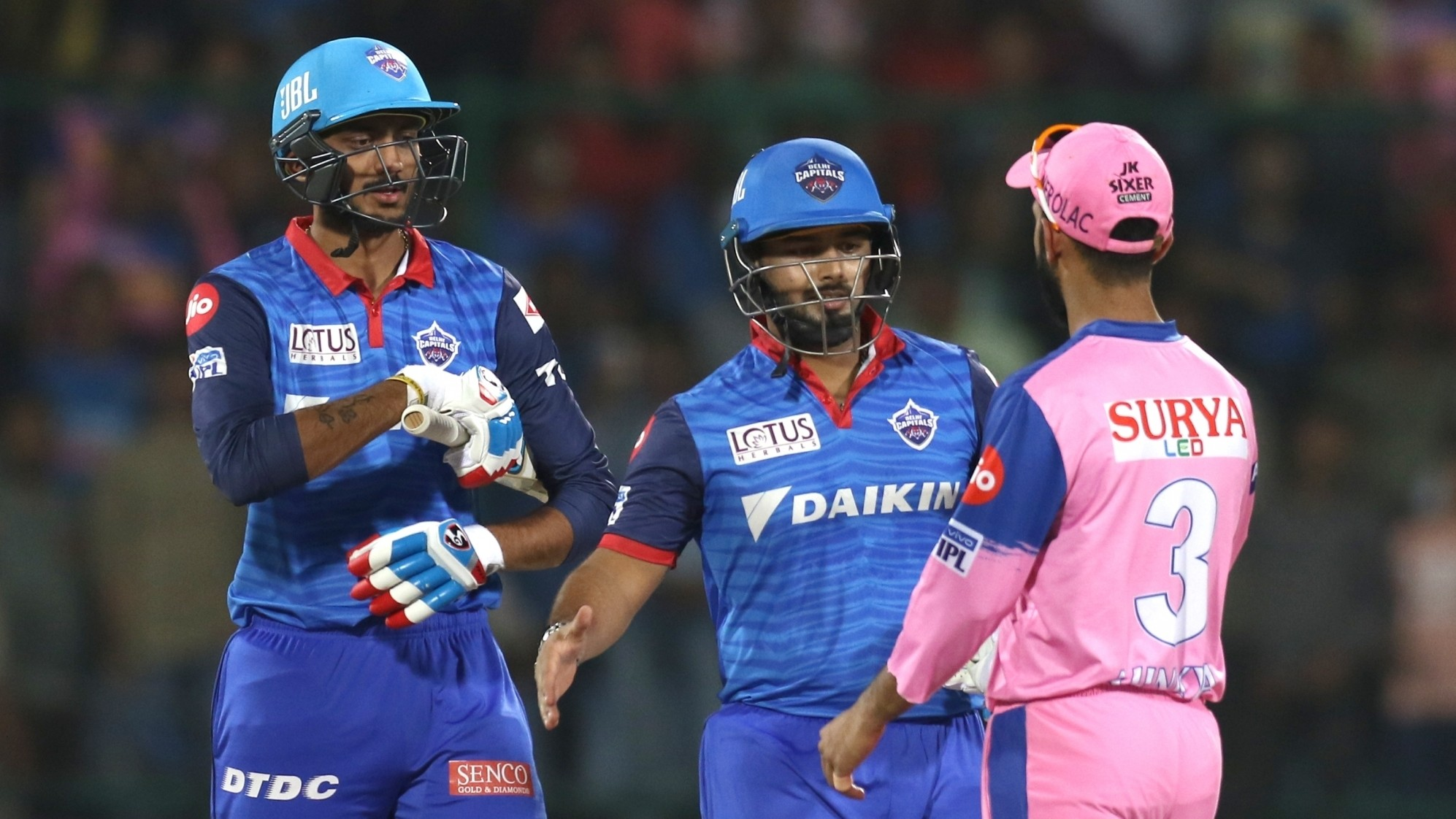 IPL 2019: Match 53, DC v RR - Statistical Highlights