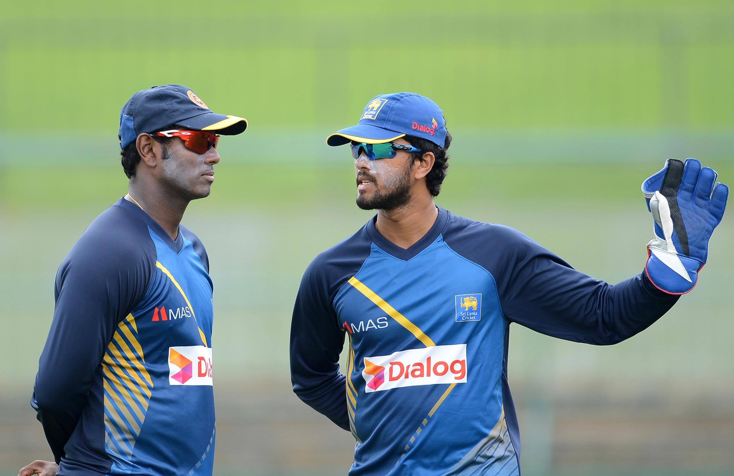 Angelo Mathews and Dinesh Chandimal were named in the Test squad for Pakistan series