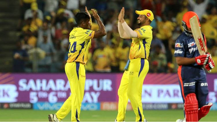 IPL 2018 : Match 30, CSK vs DD - Statistical Highlights