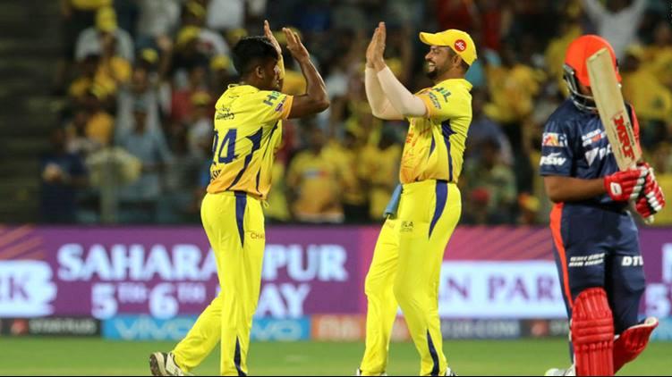 IPL 2018 : Match 30, CSK vs DD - Statistical Highlights