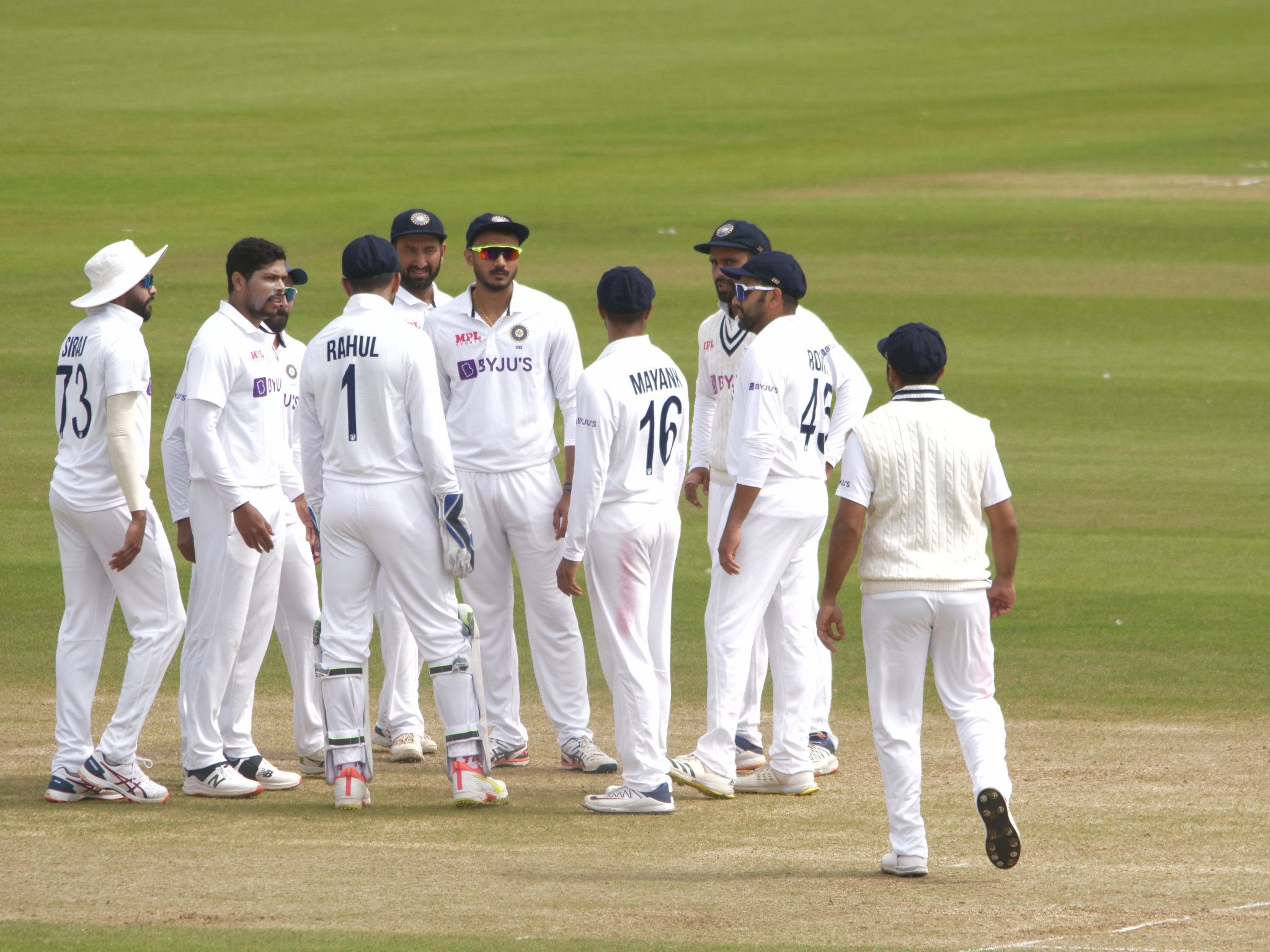 Indians grabbed a lead of 91 runs on Day 2 | BCCI