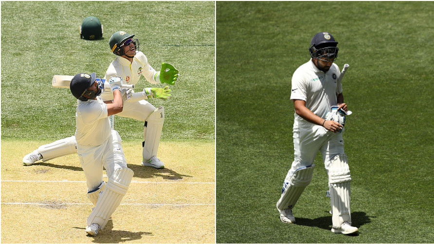 AUS v IND 2018-19: Rohit Sharma criticized for his careless shot to get out with team in crisis