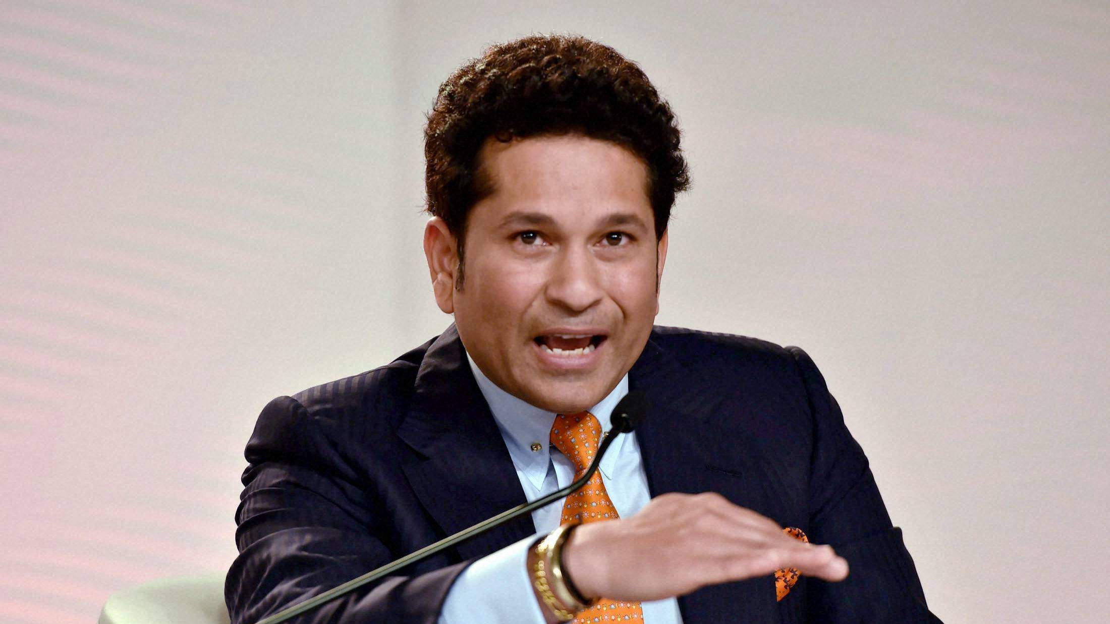 Cricket needs a balance between bat and ball, says Sachin Tendulkar