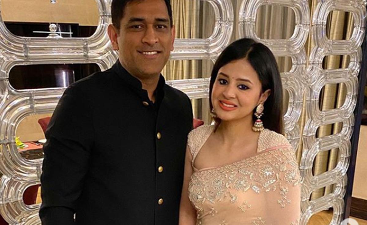 MS Dhoni and Sakshi | Instagram