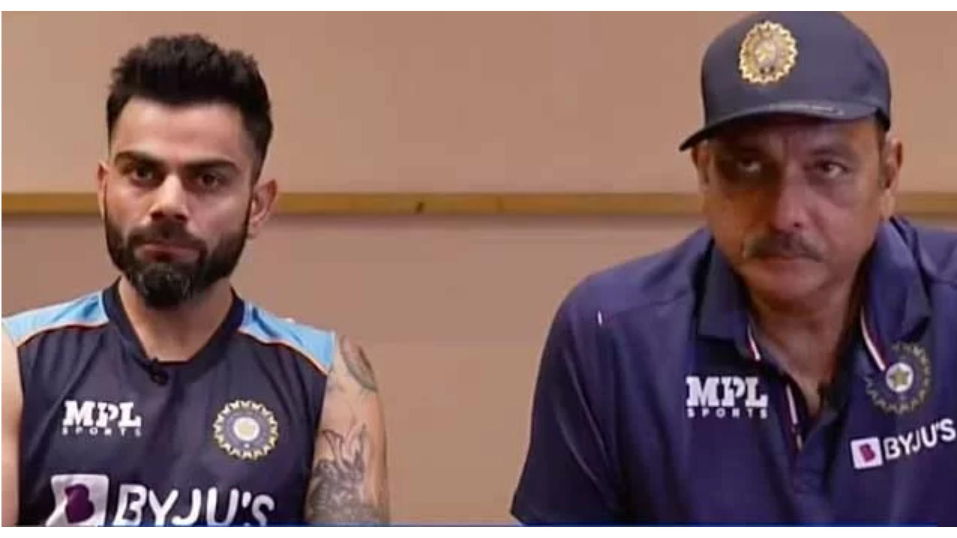 """WATCH: """"He is slimmer, fitter and only 5.5k runs richer"""", Ravi Shastri on Virat Kohli of 2014 vs now"""