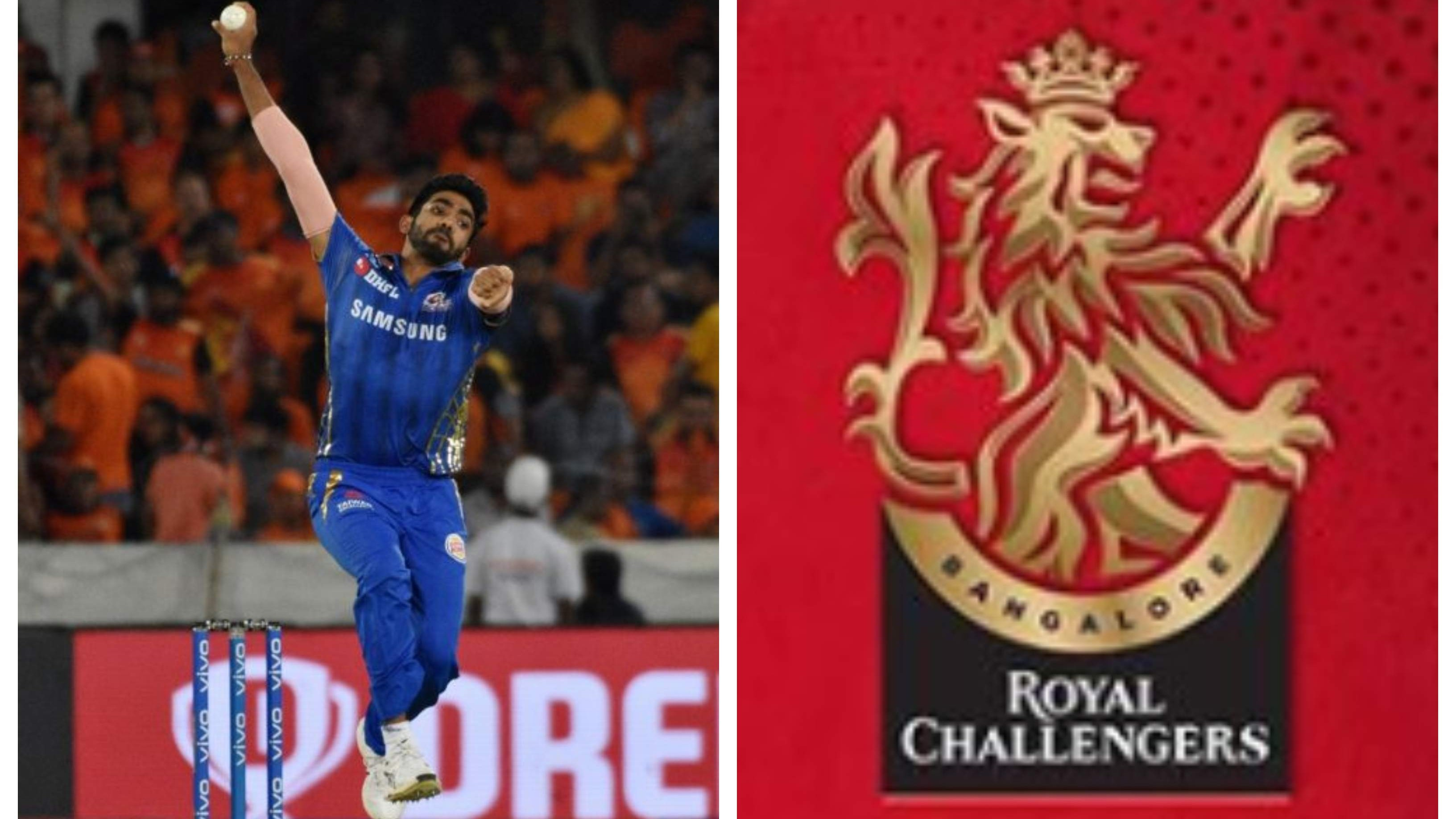 IPL 2020: Jasprit Bumrah posts a hilarious comment on RCB's redesigned logo