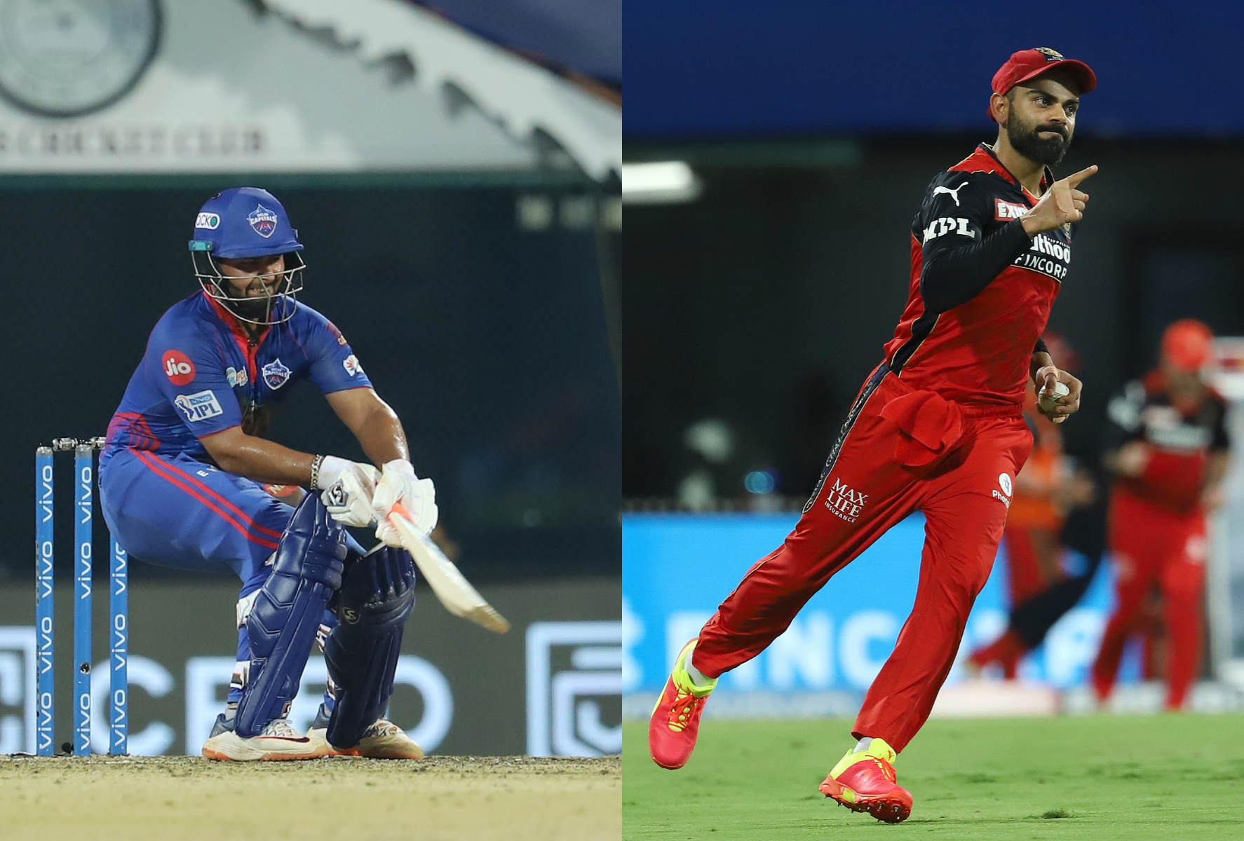 DC are placed no.2 spot in IPL 2021 points table, while RCB are at no.3 | IPL-BCCI