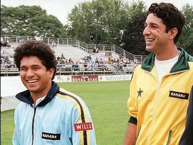 Sachin Tendulkar and Wasim Akram had shared some classic battles during their playing days | Reuters