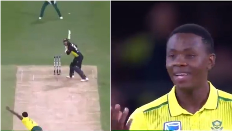 WATCH: Kagiso Rabada delivers a ball to point; umpire calls it a dead ball
