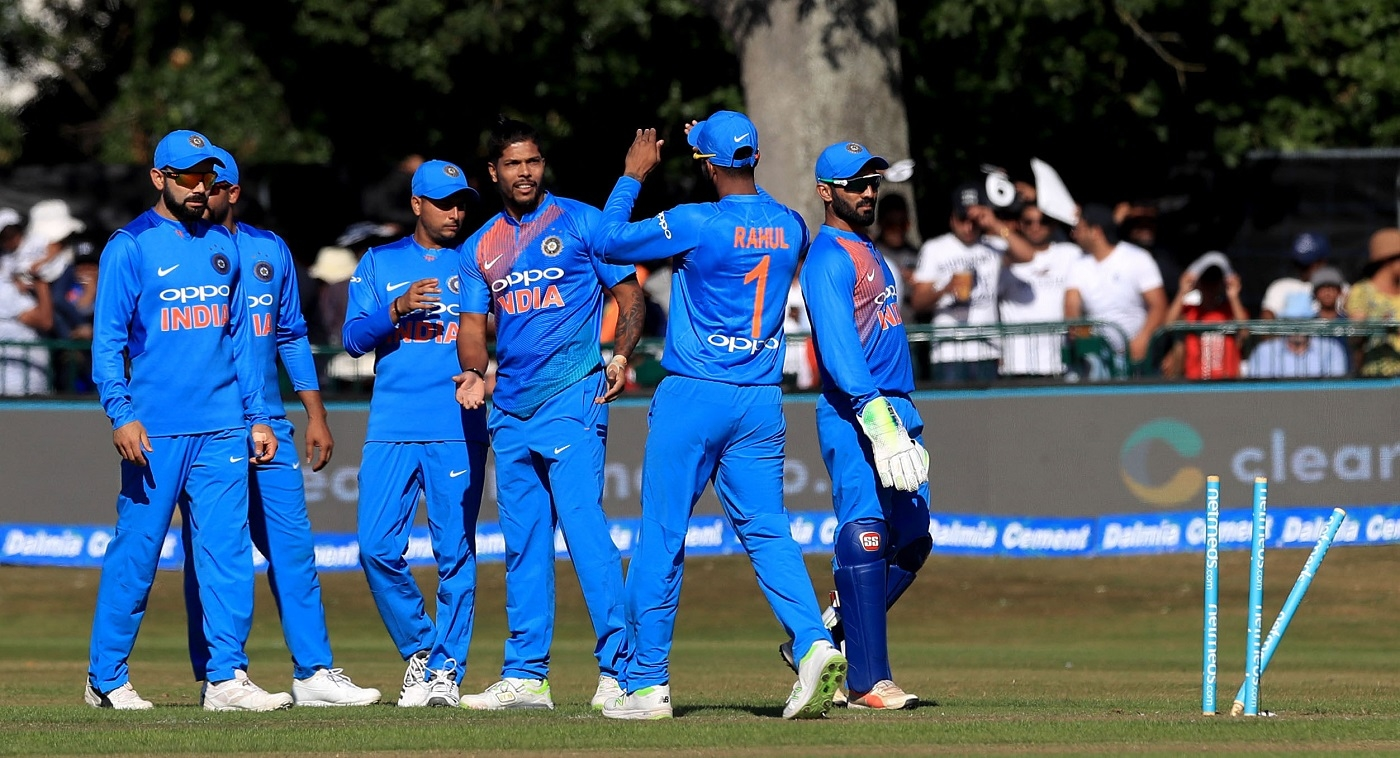 Umesh Yadav got 2 wickets on his return to India's T20 side. (PA)