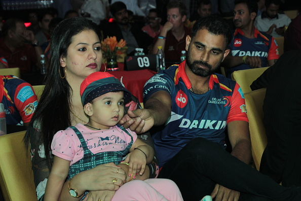 Mohammad Shami with wife | GETTY