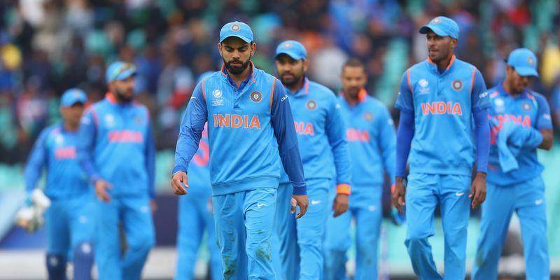 Virat Kohli and team India   Source Getty