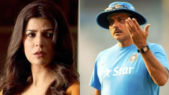 Ravi Shastri calls the reports of his link-up with Nimrat Kaur as 'Cow Dung'