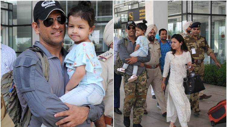 WATCH: MS Dhoni arrives at Ranchi for the first time after returning from Army training