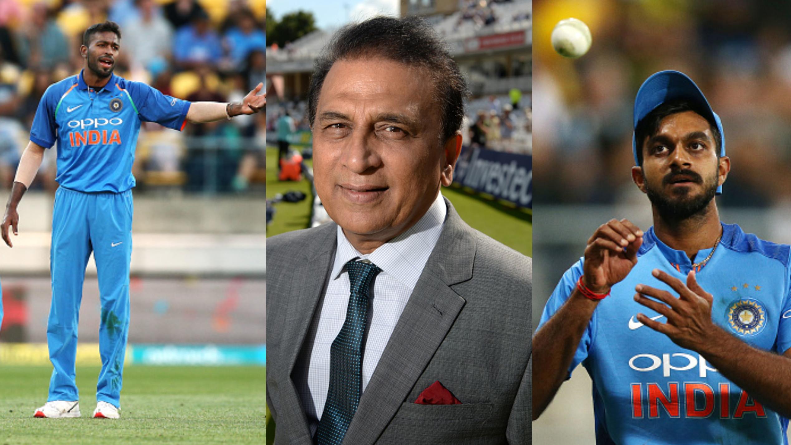 CWC 2019 : विश्व कप में विजय शंकर और हार्दिक पांड्या के खेलने या न खेलने पर दिग्गज सुनील गावस्कर ने कहा ये