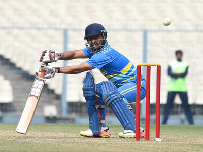 Shreevats Goswami hit 58, but rest of the Bengal batting collapsed