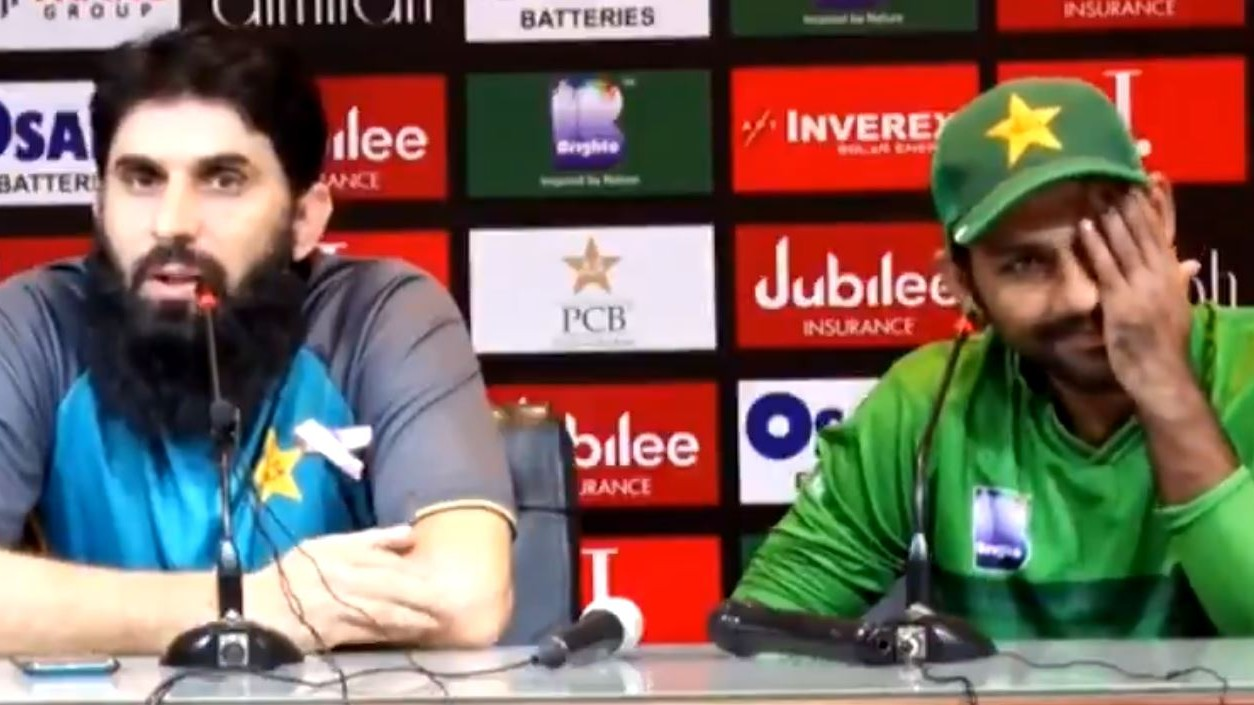 PAK v SL 2019: WATCH - Misbah-Ul-Haq snaps at journalist; sarcastically answers Pakistan lost due to him
