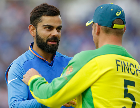 India outplayed us says Finch | Getty Images