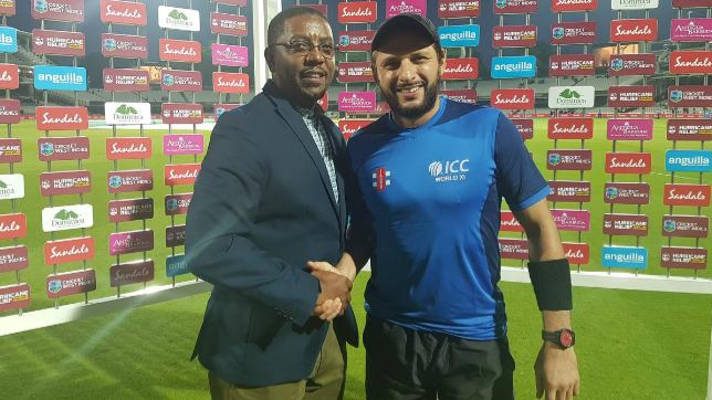 ICC World XI vs WI 2018: Shahid Afridi received Guard of Honour at  Lord's charity match