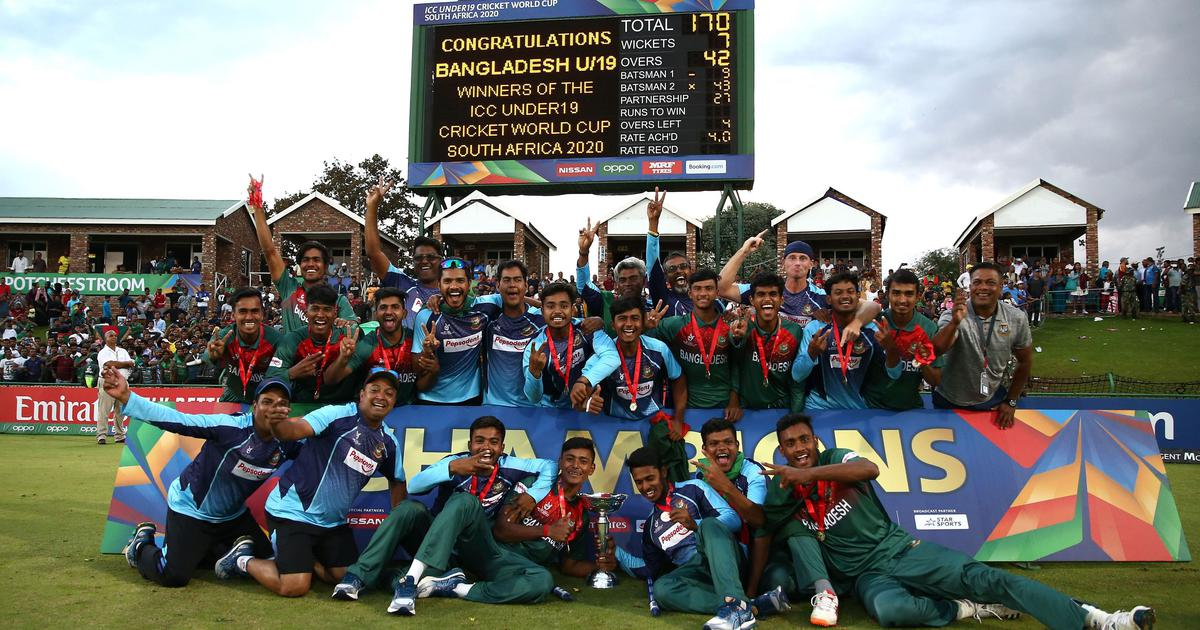 U19 World Cup 2020 winners Bangladesh