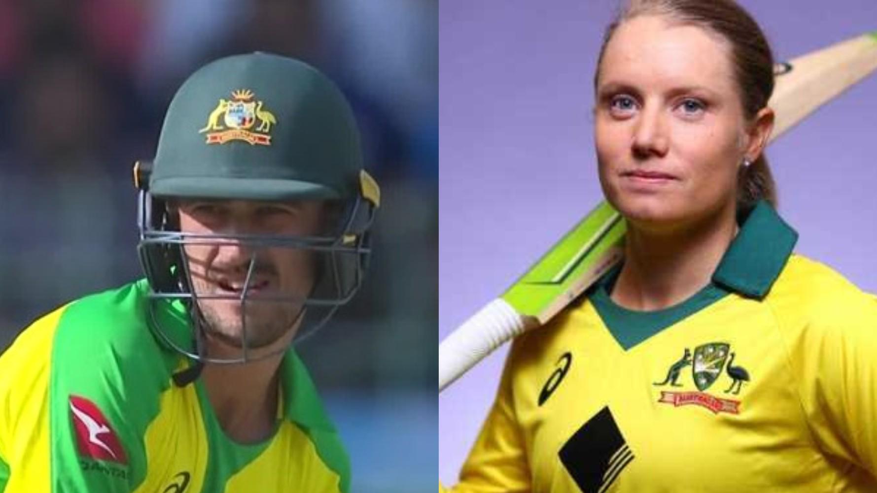 IND v AUS 2020: Alyssa Healy reacts to husband Mitchell Starc's duck at no.5 in Bengaluru ODI