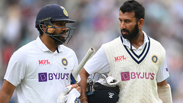 ENG v IND 2021: Rohit, Pujara not fielding during England's 2nd innings on Day 4; BCCI shares injury update