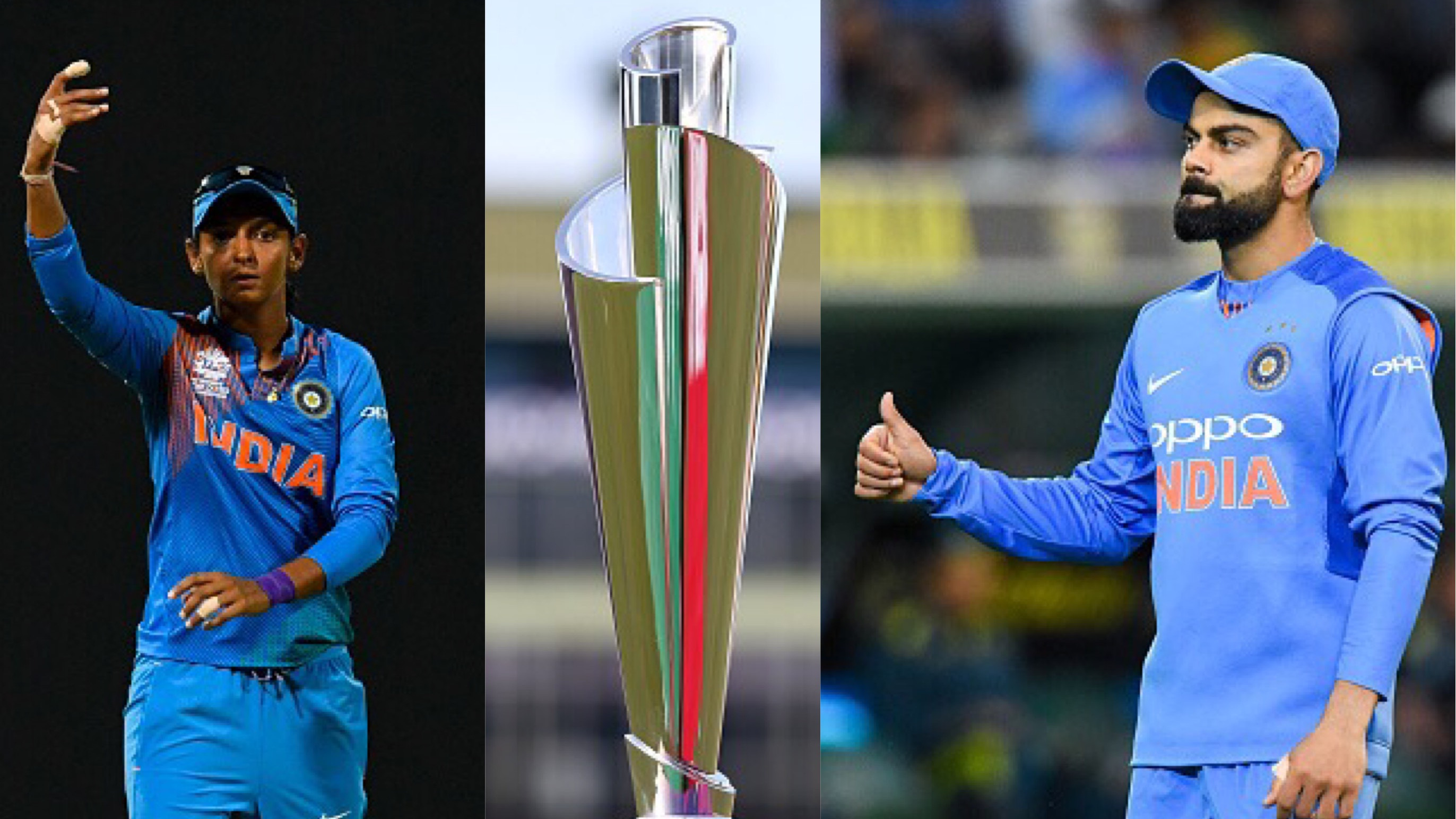 Harmanpreet Kaur and Virat Kohli welcome ICC's decision to rename World T20 as T20 World Cup