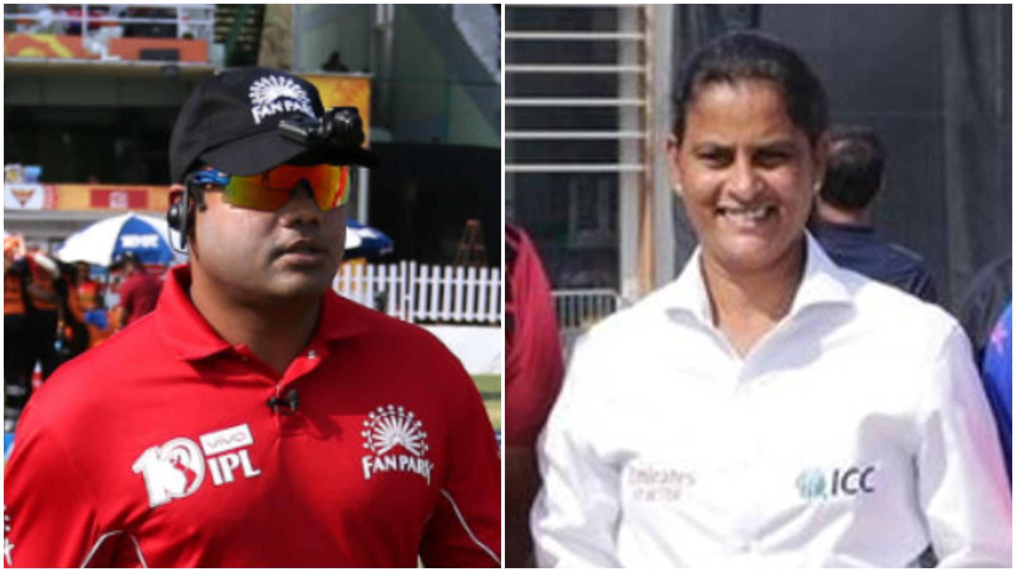 महिला टी-20 विश्वकप के लिए मैच अधिकारीयों की सूची में शामिल हुए भारत के नितिन मेनन और जीएस लक्ष्मी