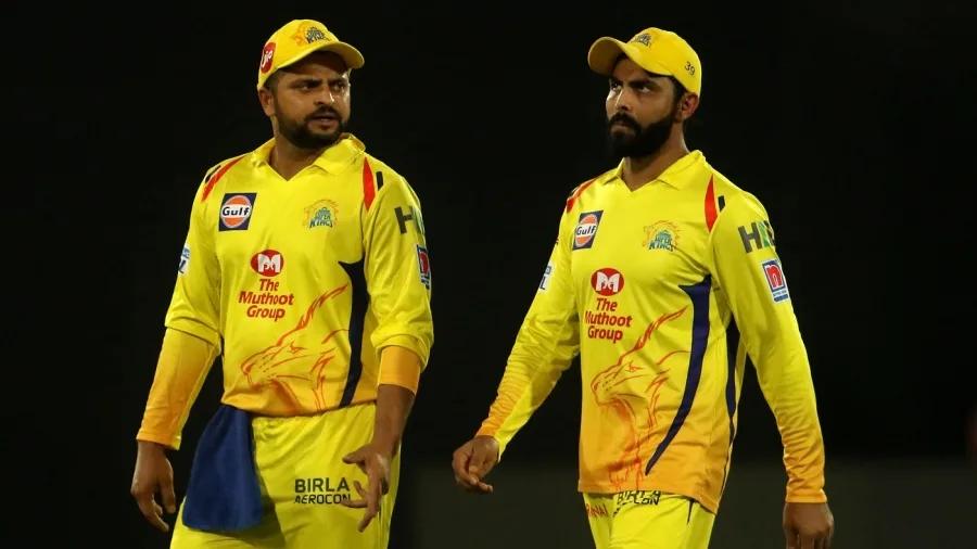 Ravindra Jadeja and Suresh Raina | BCCI/IPL