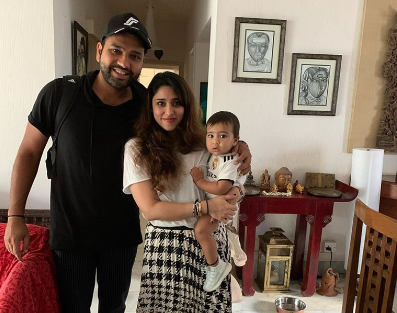 Rohit Sharma and wife Ritika celebrate four years of togetherness