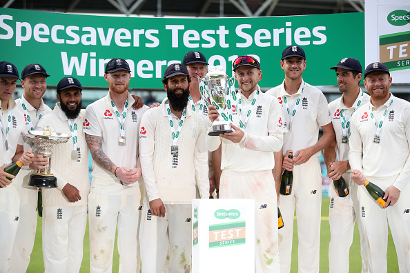 Series winners and hosts England moved up to fourth spot in the rankings | Getty