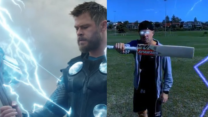 WATCH: David Warner transforms himself into Thor in his latest TikTok video