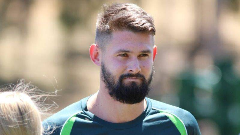 Kane Richardson ready to lead the young Aussie  pace attack in England