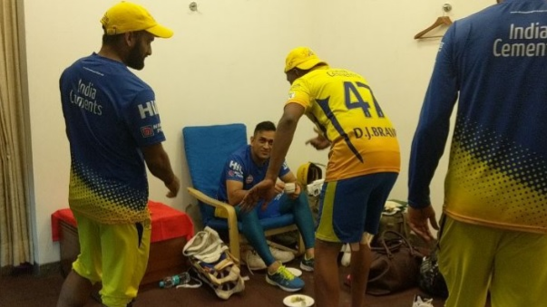 IPL 2018: WATCH- Dwayne Bravo's dancing tribute to MS Dhoni, as CSK makes it to IPL 11 final