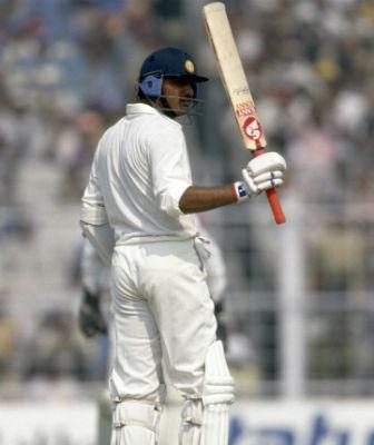 Mohammad Azharuddin scored 182 against England at Eden Gardens in 1993 Test | GETTY