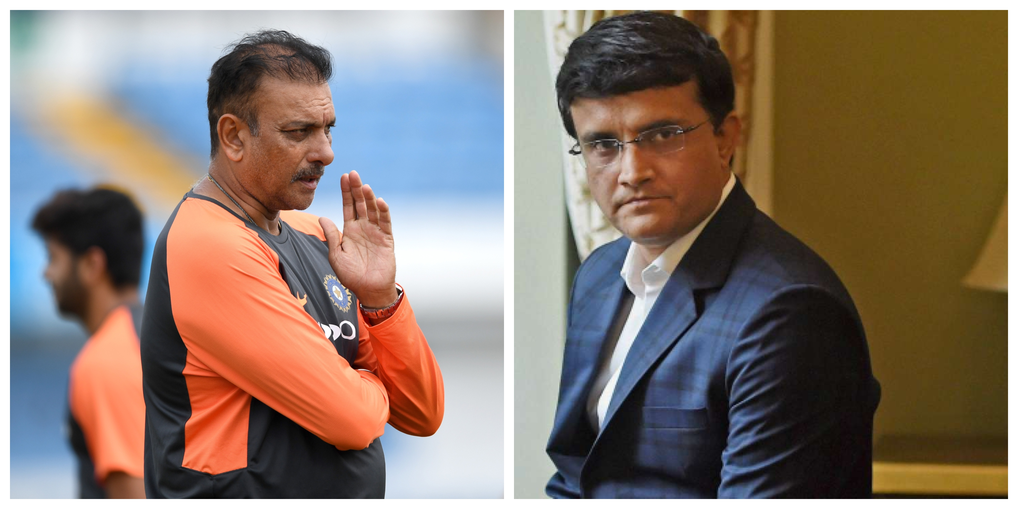 Sourav thinks Shastri should be held accountable for India's series defeat in England. | Getty