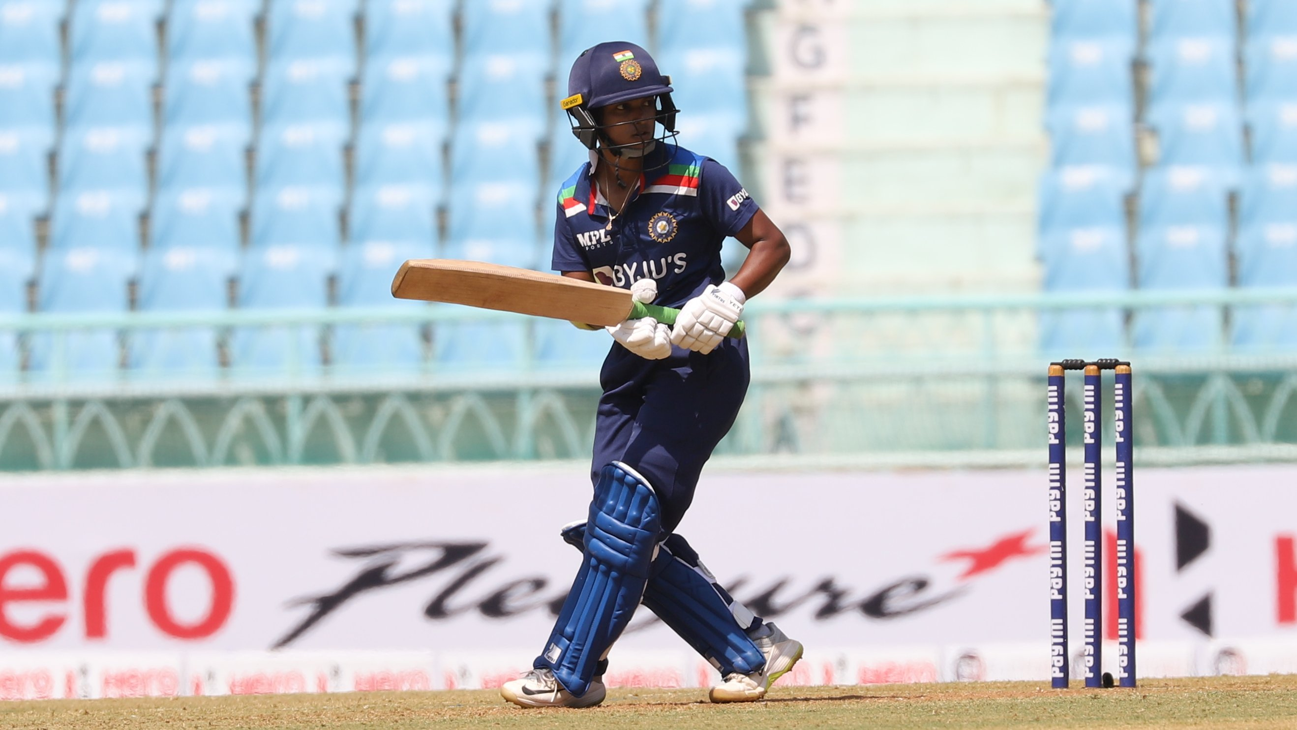 Punam Raut's brilliant ton went in vein as South Africa beat India in the 4th ODI | BCCI Women Twitter