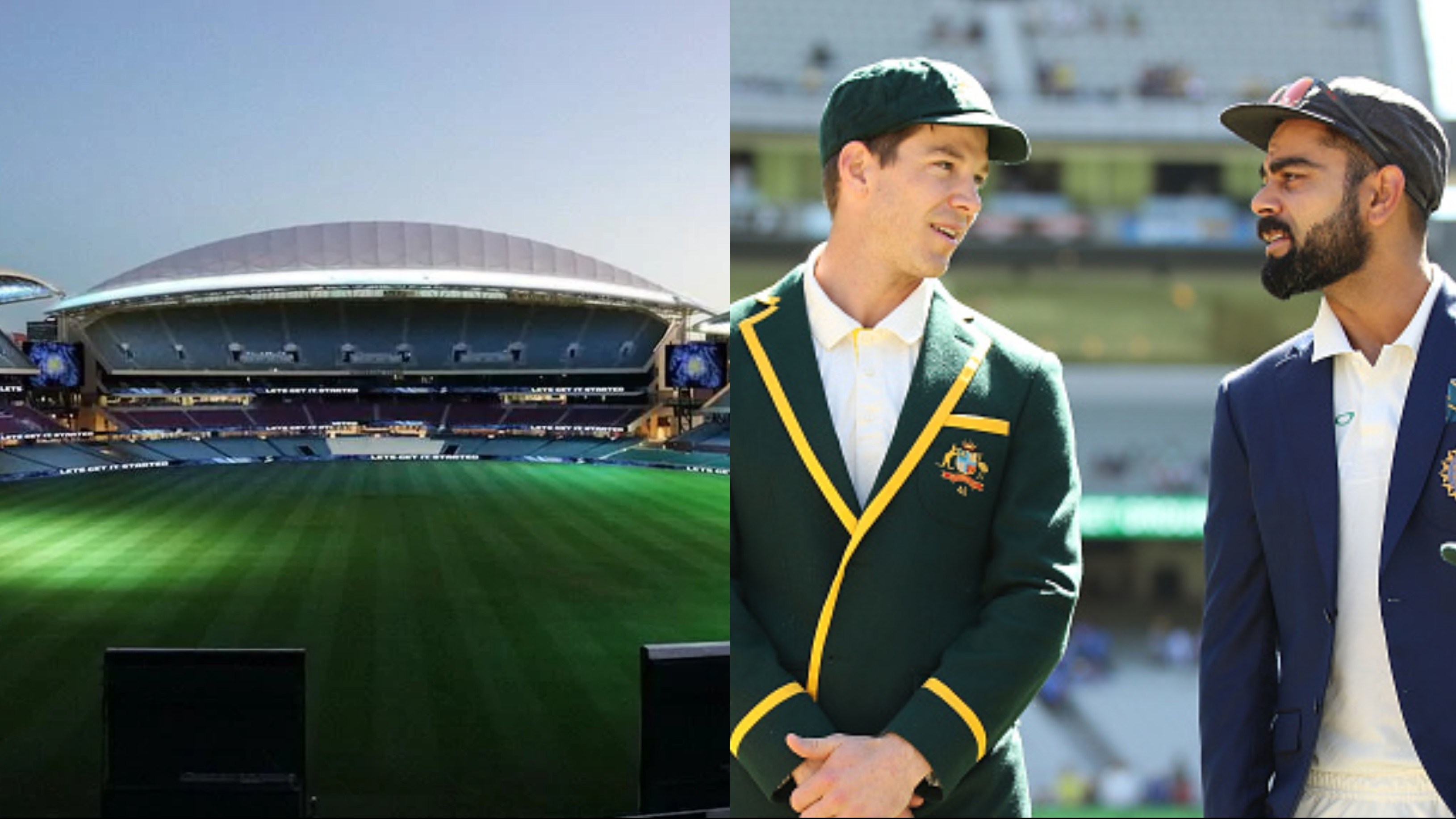 AUS v IND 2020-21: Adelaide set to host day-night Test with lockdown to be lifted in South Australia