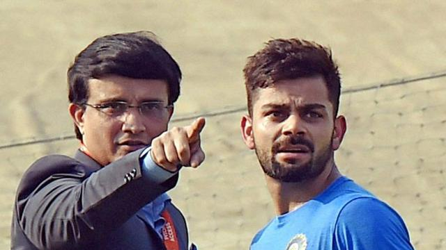 Sourav Ganguly compares captaincy styles of Virat Kohli and MS Dhoni