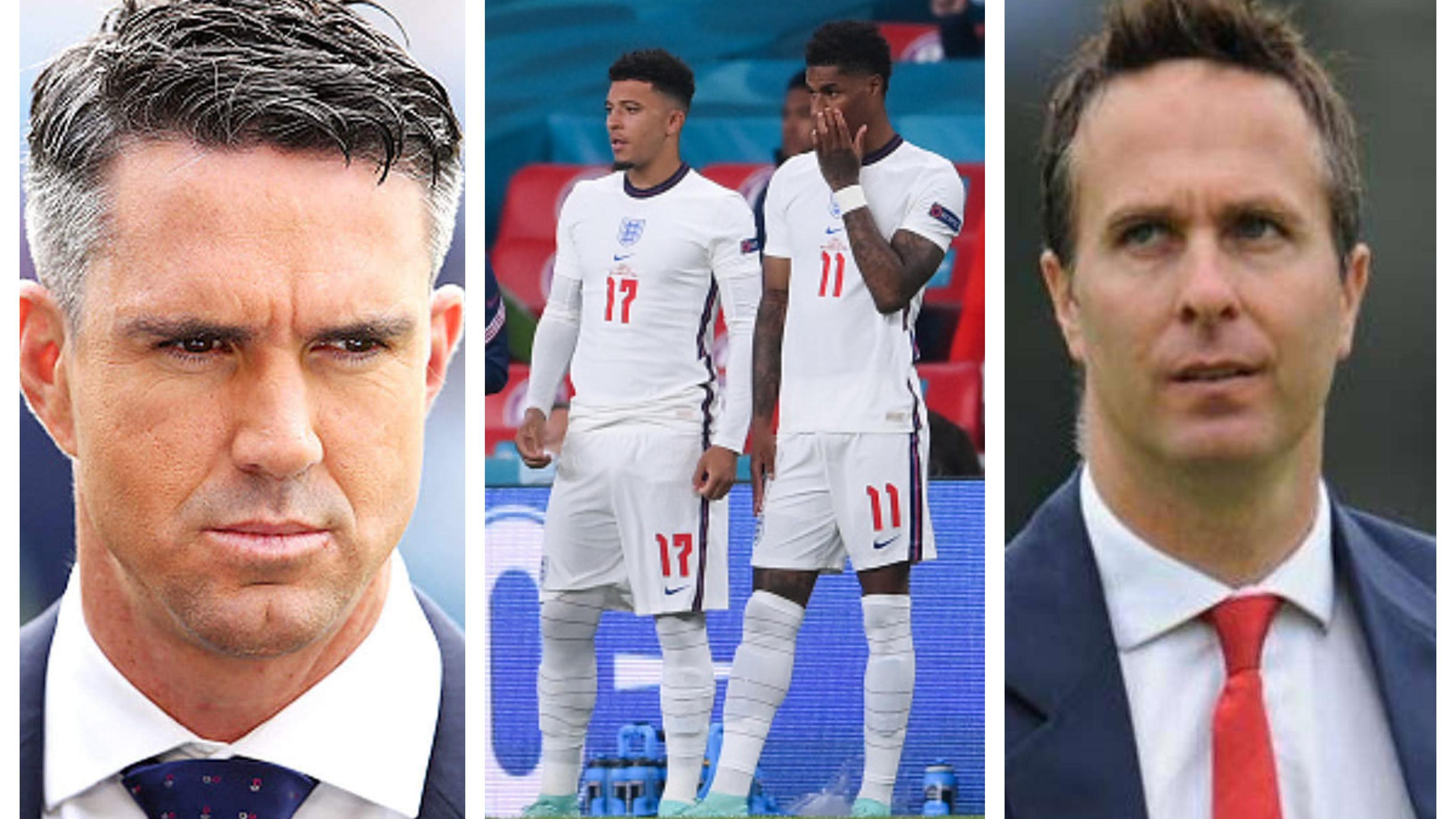 Pietersen, Vaughan condemn racial abuse of Black English footballers after Euro 2020 final loss